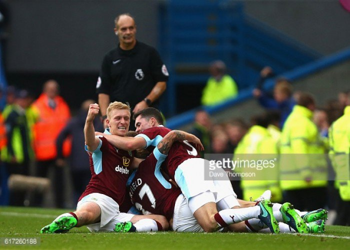 Burnley 2 - 1  Everton FC