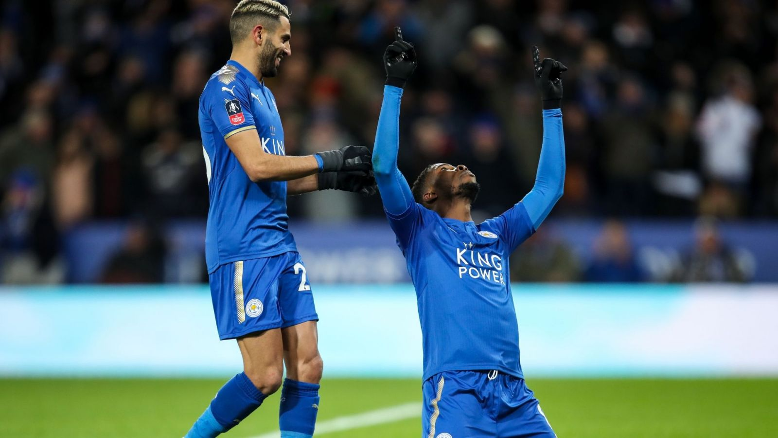 Leicester City 2-0 Fleetwood Town