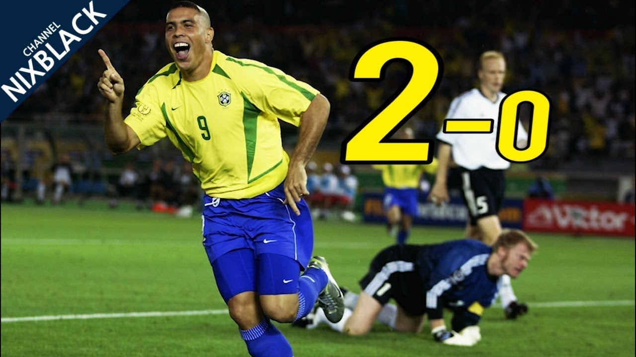 Brazil 2-0 Germany| World Cup Final 2002