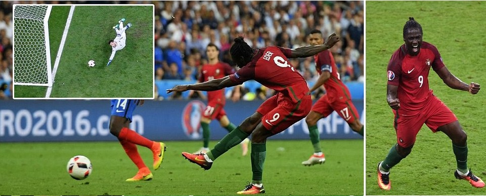 Portugal 1-0 France 2016 Euro Final