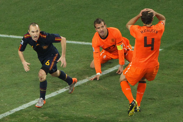 World Cup 2010 Spain 1 0 Holland