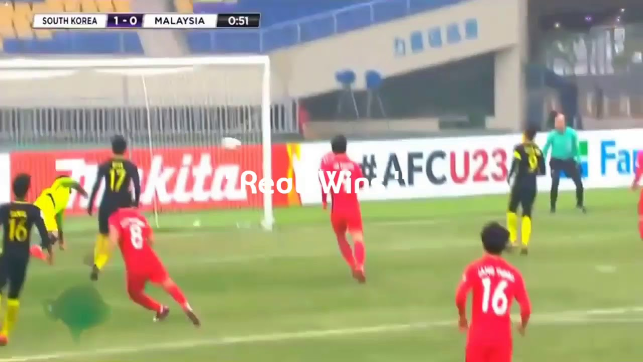 Malaysia 2-1 South Korea (Nguồn: Youtube)