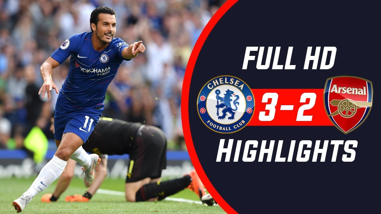 Chelsea vs Arsenal 3-2 All Goals & Highlights (Nguồn: Youtube)