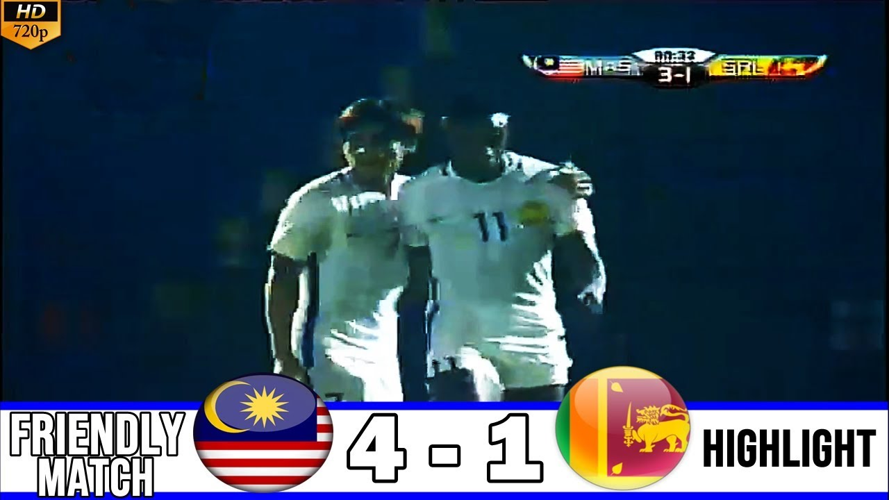 Highlights - Malaysia (4-1) Sri Lanka (Nguồn: Youtube)